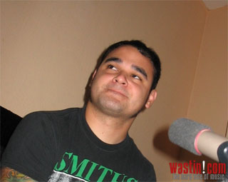 Atreyu - Interview mit Travis Miguel am 14. September 2006, K�ln